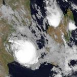 Le cyclone Dineo impacte le Mozambique