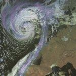 Ophelia : ouragan, tempête, chaleur et incendies