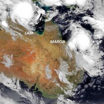Lam et Marcia : deux cyclones sur l'Australie