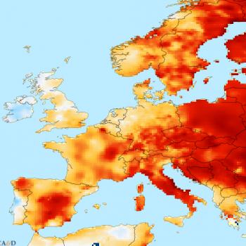 2015, seconde année la plus douce en Europe après 2014