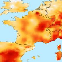 2015 serait la 4ème année la plus douce de l'histoire récente en France