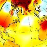 La NASA confirme un mois d'octobre très contrasté