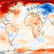 Douceur mondiale mais énormes contrastes en novembre