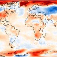 Des températures hétérogènes dans le Monde en octobre