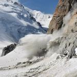 Eboulements dans les Alpes sans doute liés au réchauffement