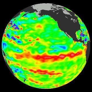 Le phénomène El Nino se renforce