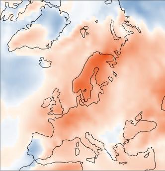 Juillet 2018 : le 2e plus chaud en Europe, 3e place à l'échelle mondiale
