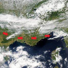 Coup de chaleur par effet de foehn sur le Var et la Côte d'Azur