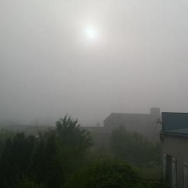 Fraîcheur nocturne et quelques brouillards automnaux à l'aube