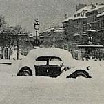 Pire vague de froid du XXème siècle en février 1956