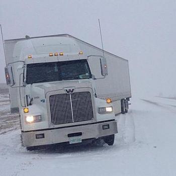 Arrivée du froid aux Etats-Unis : neige et tempête de sable