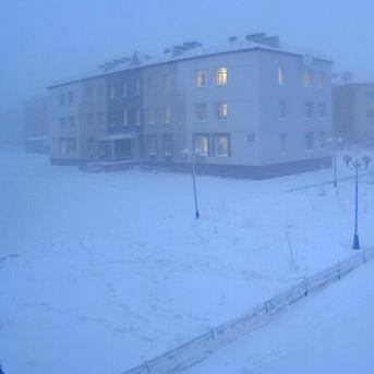 Records de froid en Sibérie Centrale