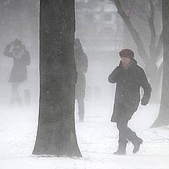 Windchill ou refroidissement éolien : gel, froid et vent