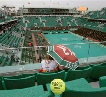 Roland Garros : la météo arbitre le match, deuxième round cet après-midi