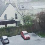 Giboulées, orage et grêle provoquent des accidents