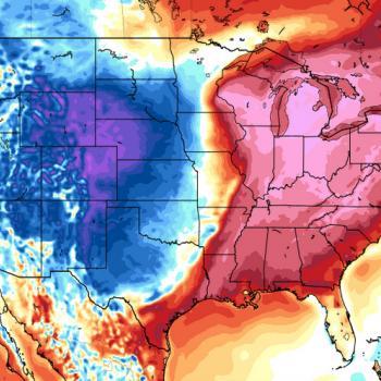 Contrastes saisissants de températures aux Etats-Unis