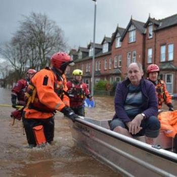 Tempête Desmond - Forte pluie et inondations en Angleterre et en Ecosse