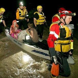 Records de pluie et inondations meurtrières aux Etats-Unis