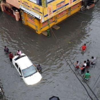 Inondations meurtrières autour de Chennai en Inde