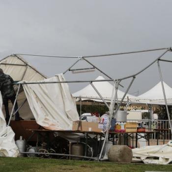 Violents orages en Corse : 28 blessés après l'effondrement d'un chapiteau