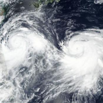 Typhons Lekima et Krosa : l'océan Pacifique Nord-Ouest s'agite