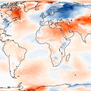 Mars 2018 : froid en Europe, 3e mois le plus doux dans le Monde