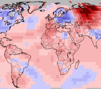Mai 2020, mois de mai le plus chaud jamais observé dans le monde