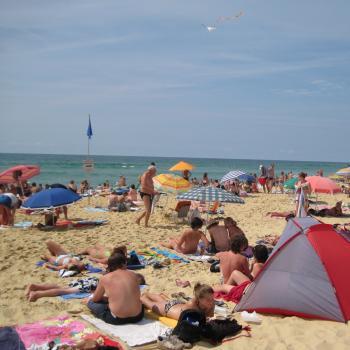 Température de l'eau de baignade en ce dernier week-end des vacances