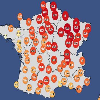 Août 2020 : 3e mois d'août le plus chaud en France depuis 1900