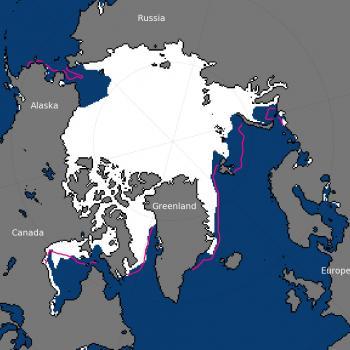 Banquise Arctique : 3e étendue la plus faible en Novembre