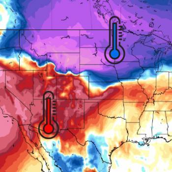 Etats-Unis : lorsque l'été et l'hiver se confrontent !