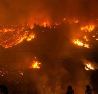 Le Chili en proie à des incendies dévastateurs