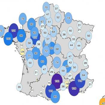 Bilan d'octobre 2019 en France : doux mais très humide !