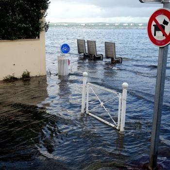 Dépression Mortimer : coup de vent durant les grandes marées d'equinoxe