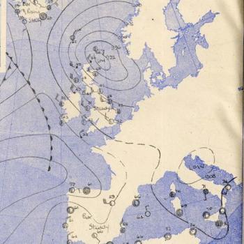 Un prévision météo déterminante : débarquement du 6 juin 1944