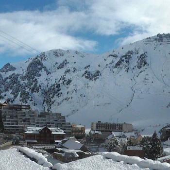 Premières chutes de neige en montagne