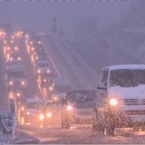 La neige arrive sur l'Europe de l'Est
