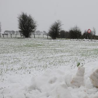 Neige et verglas entre Nord Pas de Calais, Picardie et Normandie
