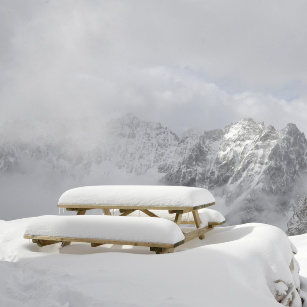 Il y a an : pas de canicule mais de la neige dans les Alpes