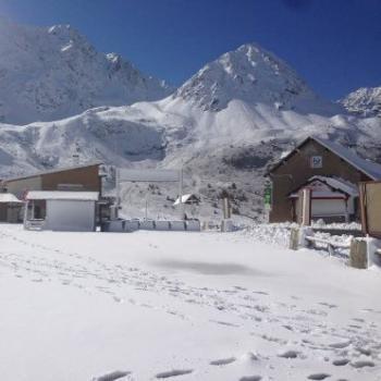 Chutes de neige sur les Alpes du Sud et près de l'Italie