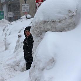 Neige, froid et blizzard persistent sur l'Est des Etats Unis et du Canada