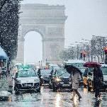 Neige à Paris et en Ile-de-France la plus précoce depuis 1980