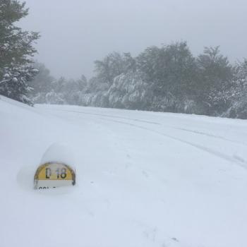 Froid et neige tardive en montagne pour ce pont de l'Ascension