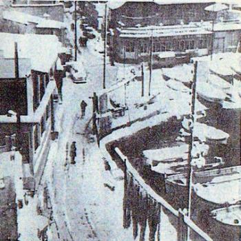 Noël 1962 : sous la neige et dans le froid