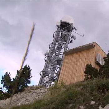 Un nouveau radar météo pour détecter les pluies au-dessus de Grenoble