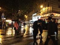 Une nuit blanche 2012 sous la pluie !