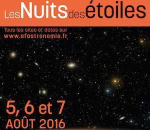 Une météo favorable pour les nuits des étoiles des 5,6 et 7 août 2016