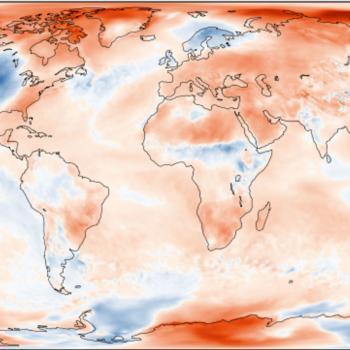 Nouveau record de température mondiale en octobre 2019