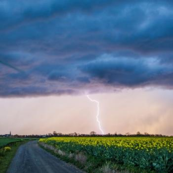 Goutte froide Nadine : Nombreuses averses orageuses cette semaine