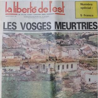 Terribles orages de juillet 1984 en France et en Allemagne
